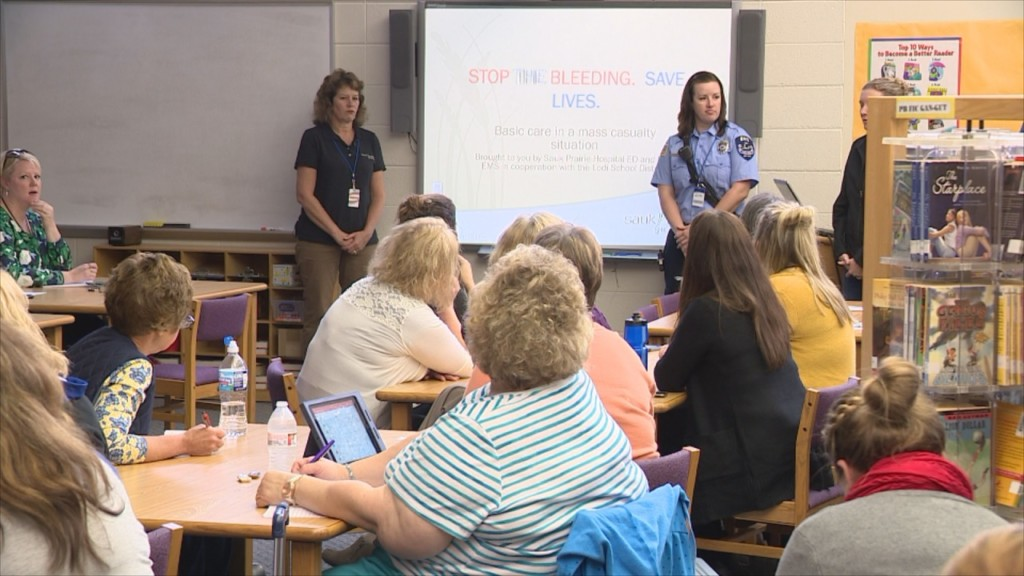 Teachers learn how to save lives in mass casualty situations