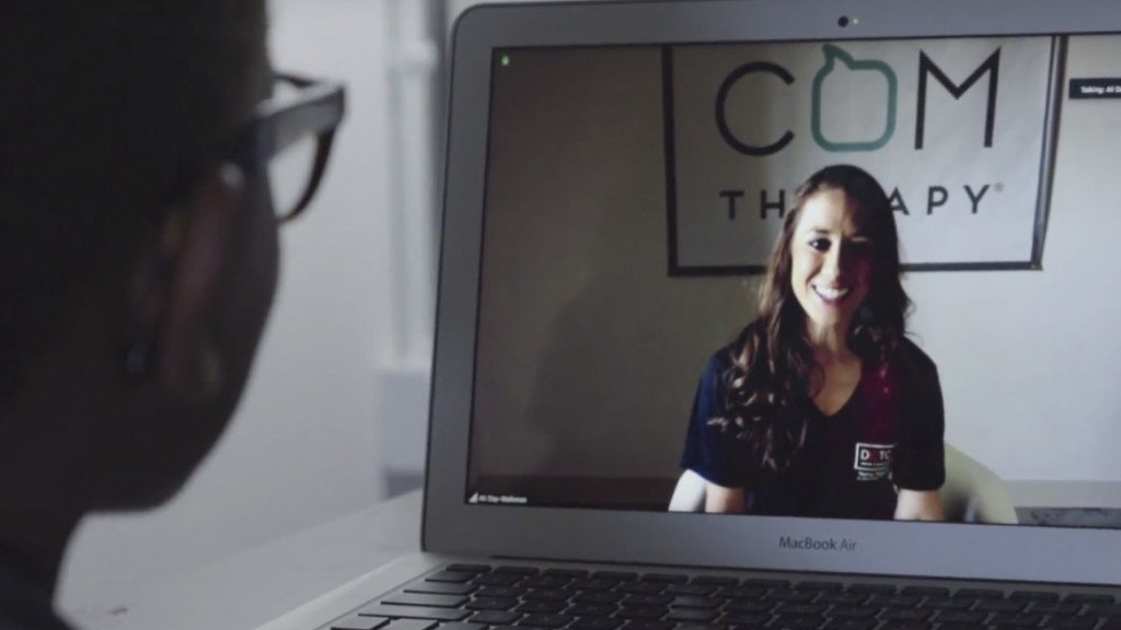 Startup provides virtual therapy