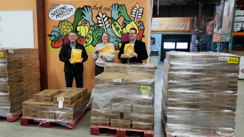 Nearly 40,000 pounds of mac 'n' cheese donated to Second Harvest Foodbank