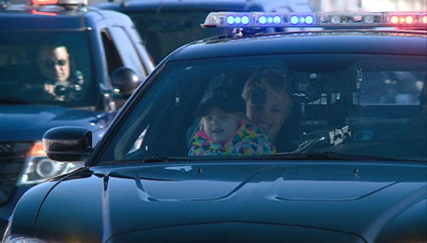 3-year-old fighting cancer becomes police officer