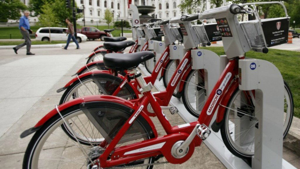 E-bikes invade Madison, starting today all city rental bikes are electric