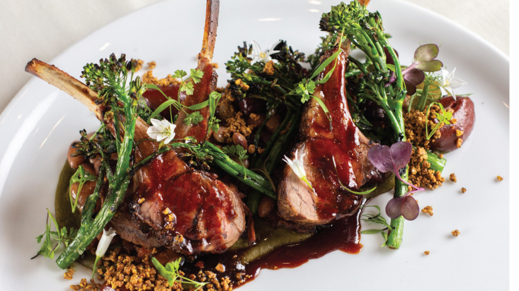 The Madison Club offers local fare with spicy flair