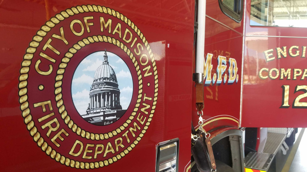 Madison fire truck