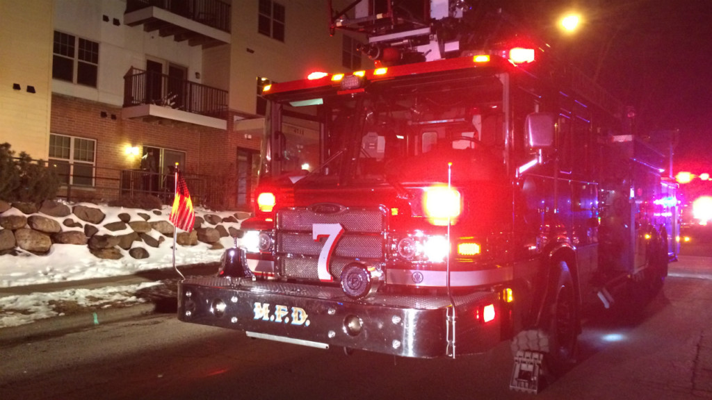 Early detection by smoke alarm helped firefighters stop fire in downtown business
