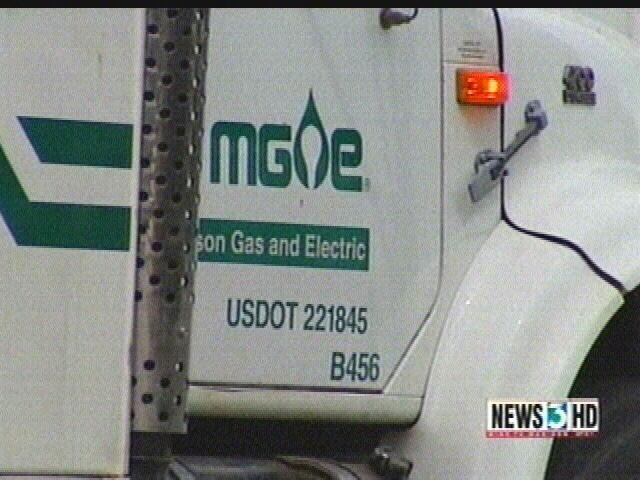 Firefighters contain West Side gas leak
