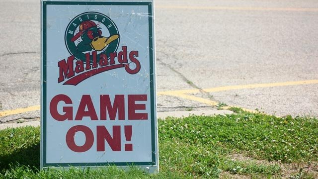 Mallards win rain-shortened home opener