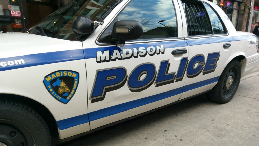 Madison K-9 tracks down suspect hiding inside dumpster
