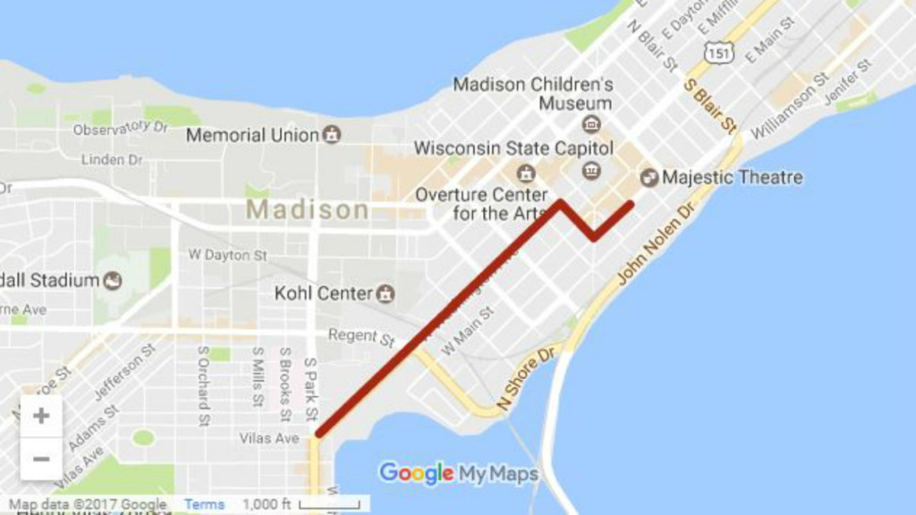 Several streets to close Saturday due to protest