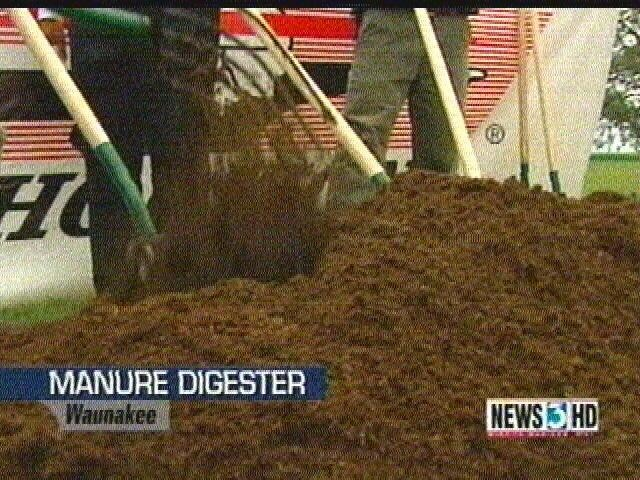 Manure digester reports 2nd spill in 2 months