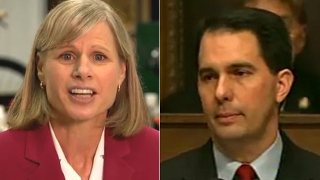 Reality Check: Walker exaggerates Burke ties to Doyle