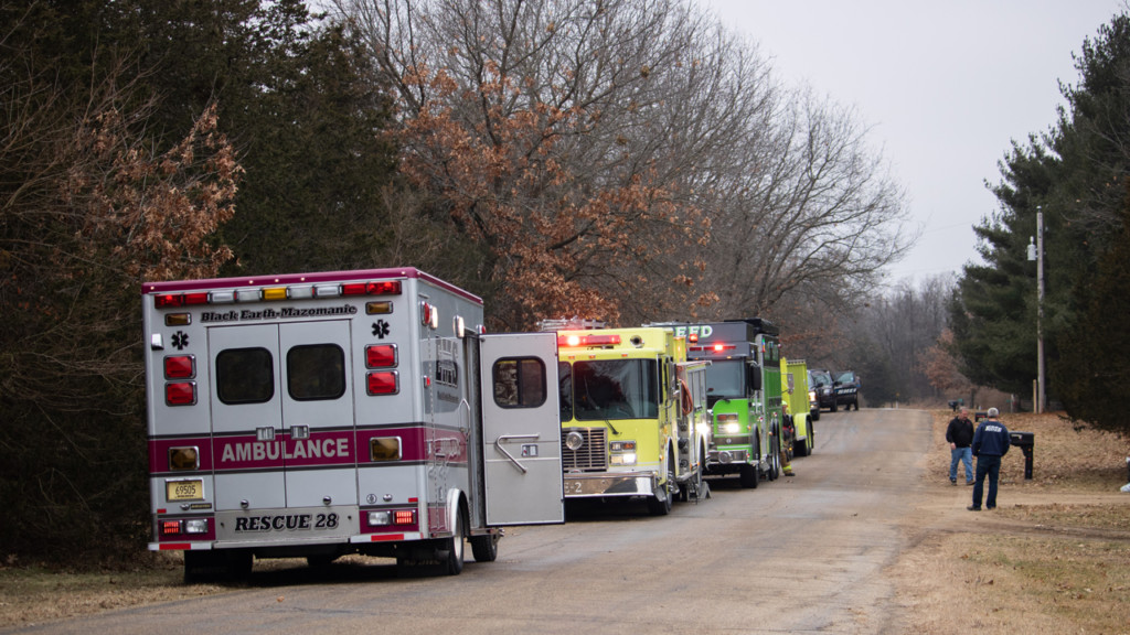 Crews respond to structure fire in Mazomanie, dispatch confirms