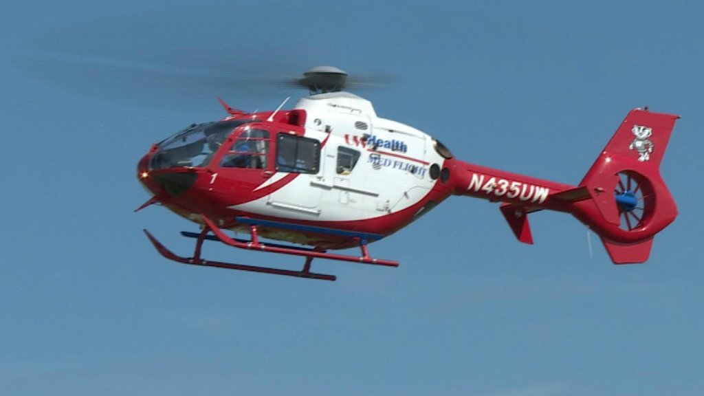 Motorcycle crash results in Med Flight rescue