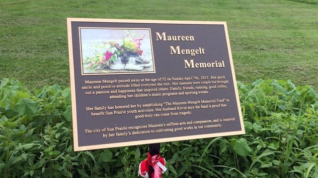 Petition drive launched to save Maureen Mengelt memorial