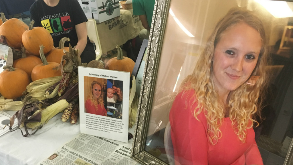 Janesville Farmers Market sells produce from young mother killed in crash