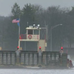 Sign of the season: Merrimac Ferry to close