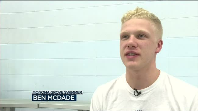 MG's McDade looks for WIAA swimming history