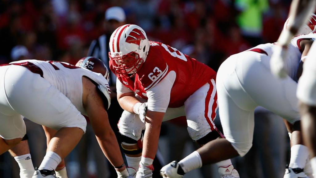 Former Badger Michael Deiter drafted by Miami Dolphins in third round