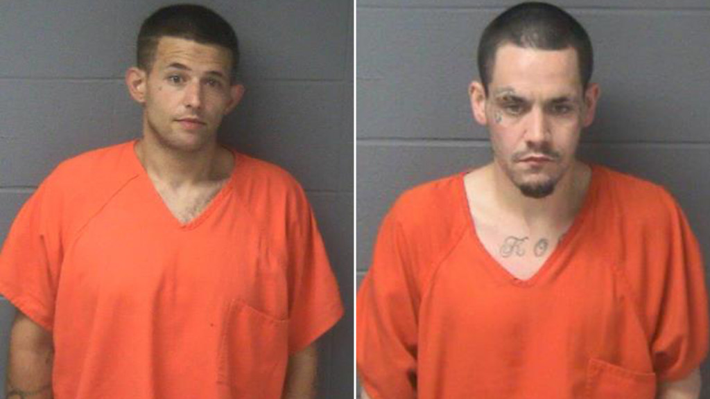 Men throw items out of car, evade law enforcement, officials say