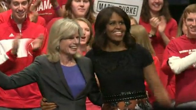 Michelle Obama focuses on young voters in Madison