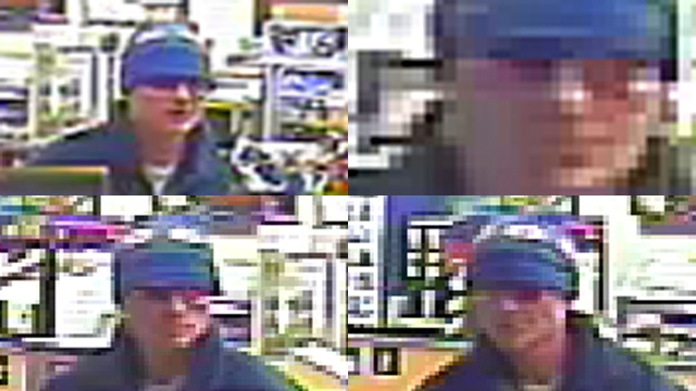 Man sought after gas station robbery attempt
