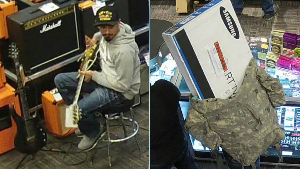 Man steals $2,000 guitar by concealing it in backpack, police say