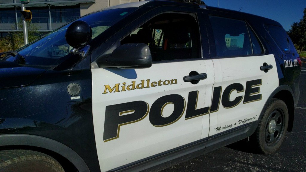 Middleton police responds to a call about a man with gun