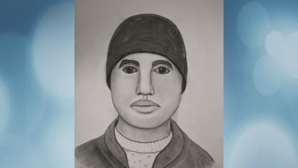 Police release sketch of man who attacked, robbed woman