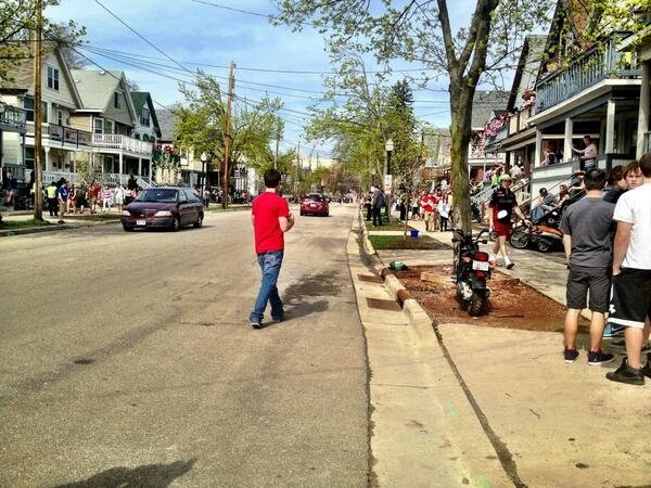 Citations down for changed Mifflin Street Block Party