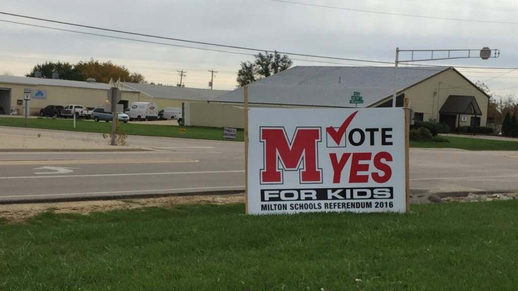 Milton residents to vote on $87 million referendum to improve schools