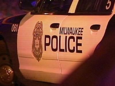 A Milwaukee police squad car