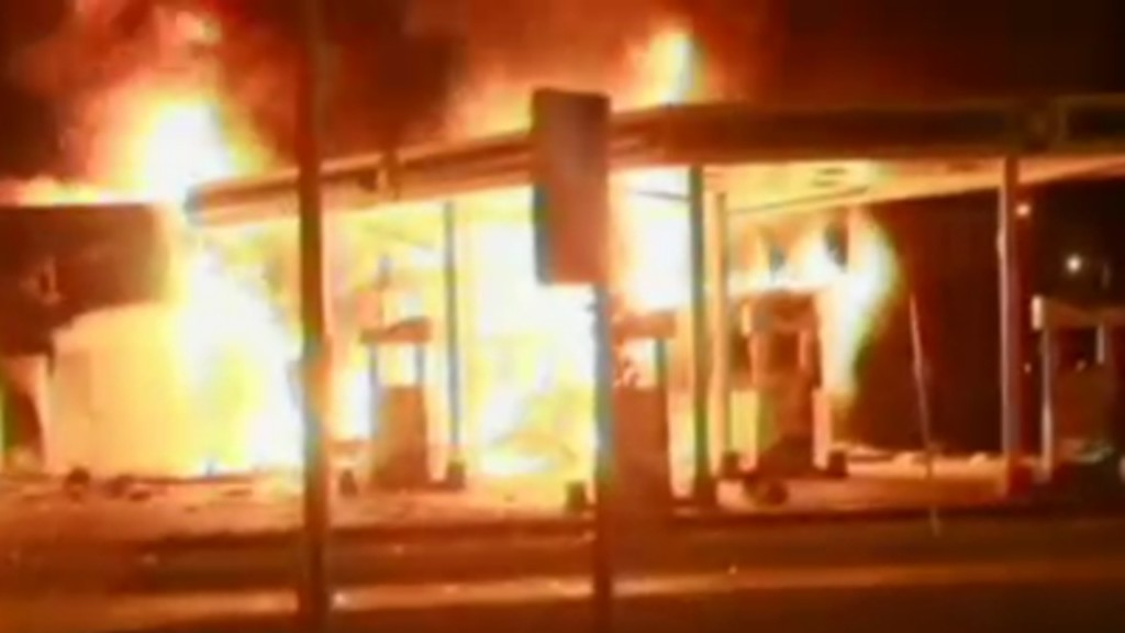 Federal agents investigate fires tied to unrest