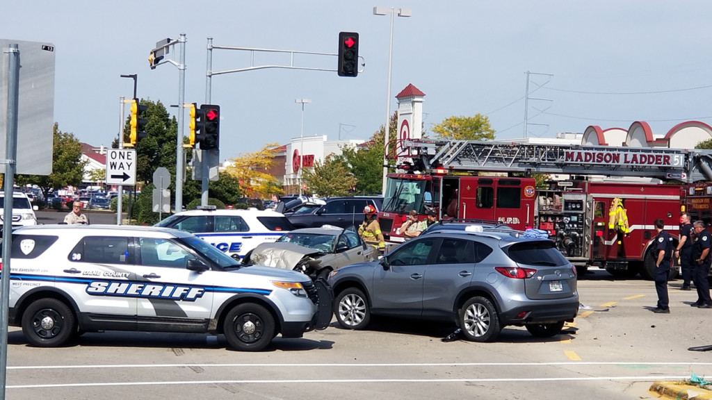 1 person killed in midday crash on Madison's west side, 2 others injured, officials say