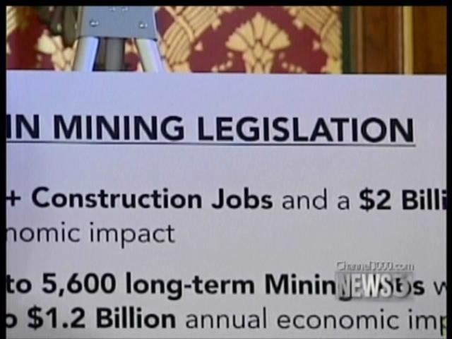 Wisconsin conservationists re-launch anti-mine ad