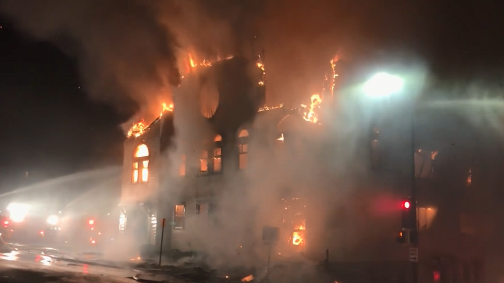 Police: No sign that Duluth synagogue fire was hate crime