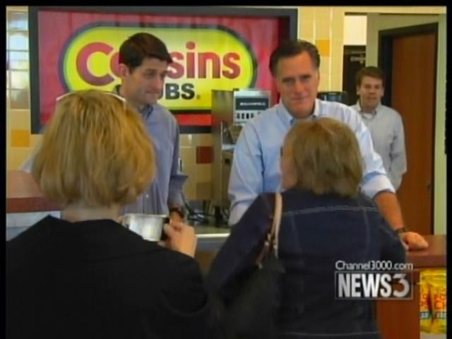 Ryan soaks up home state pride as new Romney mate