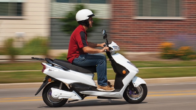 Charging around town: Flux Mopeds