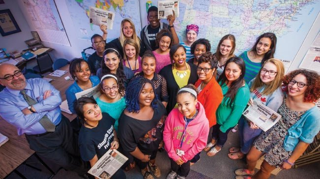 Bridging the achievement gap: Simpson Street Free Press