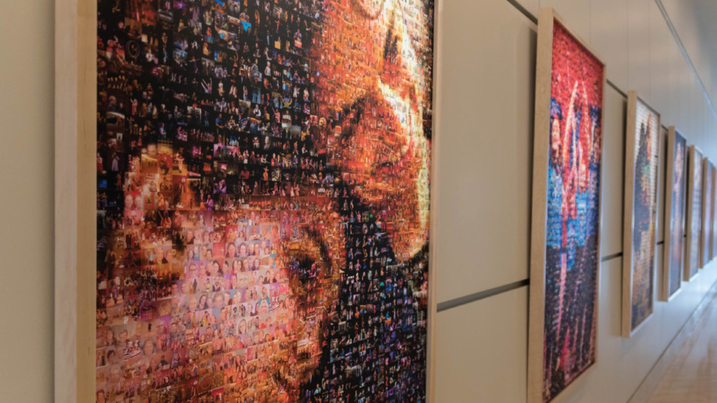 Mixed Media: Overture Center's mosaics center around its people