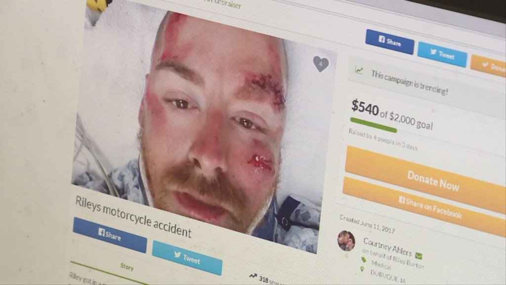 Day care owner: GoFundMe page set up for motorcyclist arrested on OWI charges a 'fraud'