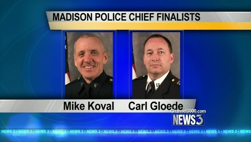 Internal candidates named as finalists for MPD chief