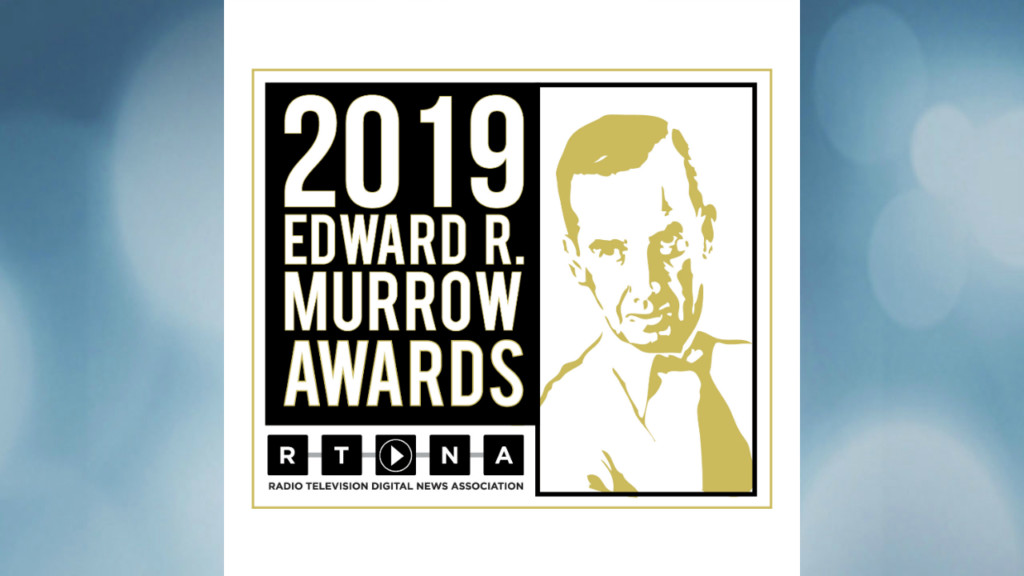News 3 Now wins National Murrow Award for breaking news coverage
