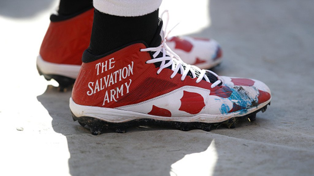Packers lace up to represent charities for the #MyCauseMyCleats campaign