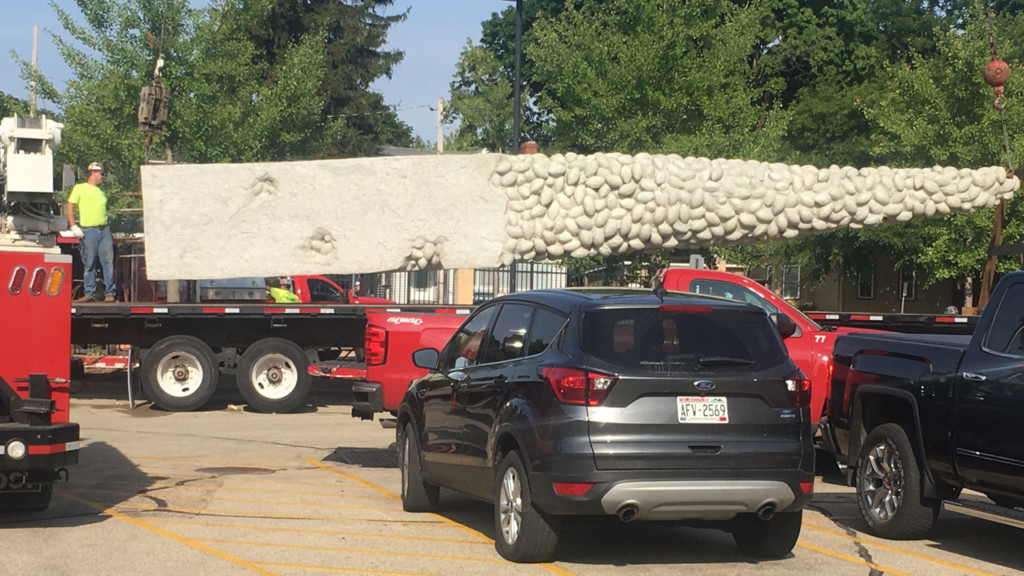 Nails' Tales sculpture removed outside Camp Randall Stadium