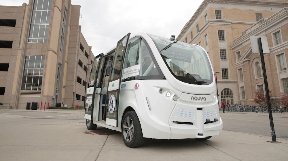 Driverless shuttle to give rides at UW