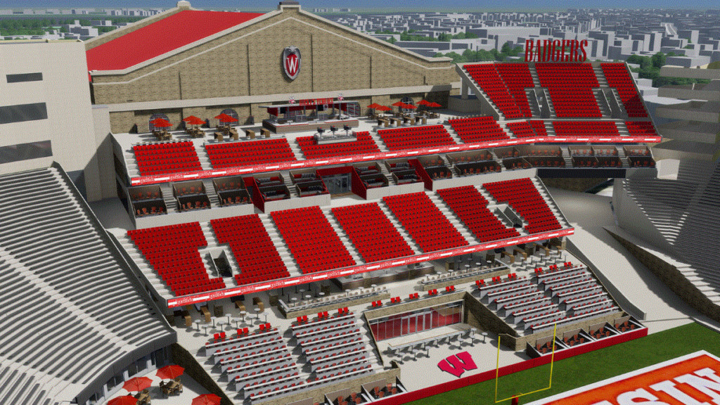 UW-Madison announces official plans to give Camp Randall major face lift