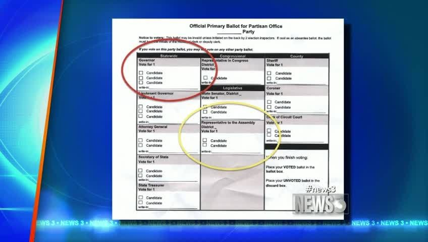 Elections board looks at ballot design