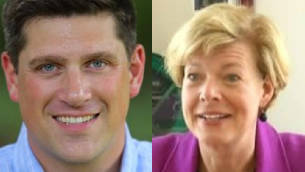Kevin Nicholson's mother donates to Tammy Baldwin, other Democrats