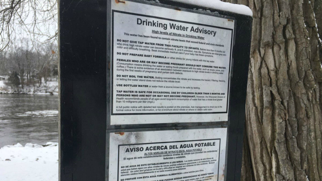 Nitrates on the rise in Rock County water