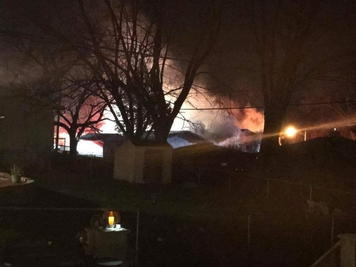 Two people hurt in Madison house fire