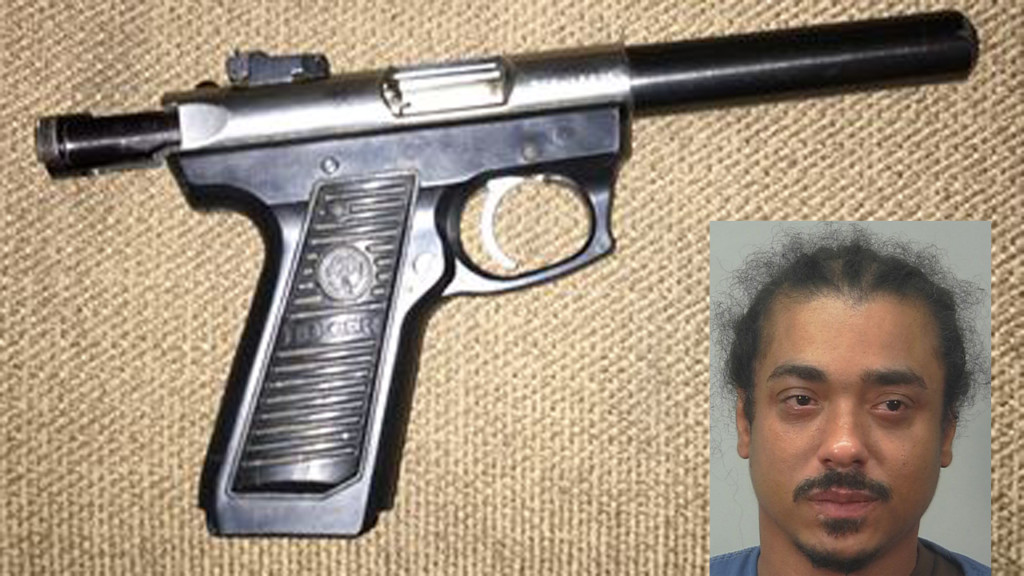 Loaded gun, drugs seized during raid of suspected drug dealer's apartment, police say